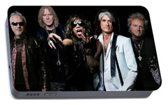 Portable Battery Charger featuring the photograph Aerosmith by Sean