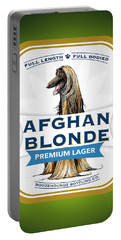 Afghan Blonde Premium Lager Portable Battery Charger