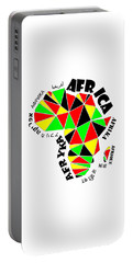 Africa Continent Portable Battery Charger