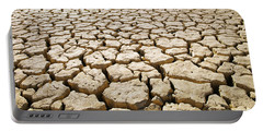 Africa Cracked Mud Portable Battery Charger