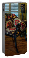 African Accent Furniture Portable Battery Charger