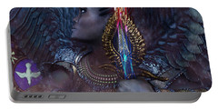 African Angel 6 Portable Battery Charger by Suzanne Silvir