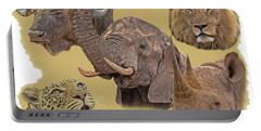 African Big Five Portable Battery Charger
