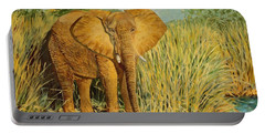 African Elephant Portable Battery Charger