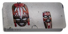 African Face Masks Portable Battery Charger