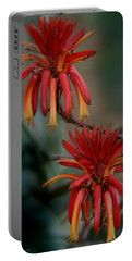 African Fire Lily Portable Battery Charger