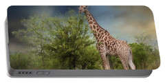 African Giraffe Portable Battery Charger