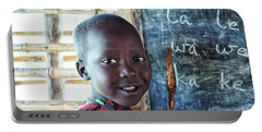 Maasai School Child Portable Battery Charger