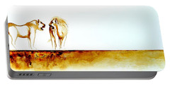African Marriage - Original Artwork Portable Battery Charger