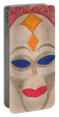 African Mask Portable Battery Charger