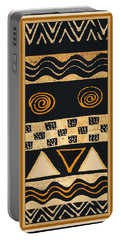 African Memories Portable Battery Charger by Vagabond Folk Art - Virginia Vivier