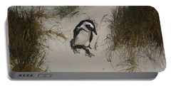 African Penguin On A Mission Portable Battery Charger