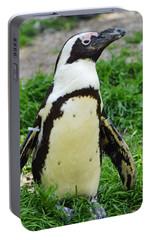 African Penguin Portable Battery Charger by Ellen Henneke