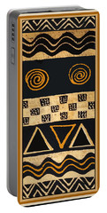 African Primordial Spirits - 2 Portable Battery Charger by Vagabond Folk Art - Virginia Vivier