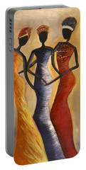 African Queens Portable Battery Charger
