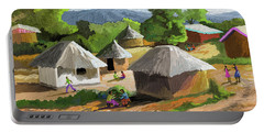 African Rural Life Portable Battery Charger