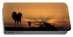 Portable Battery Charger featuring the photograph  African Style Sunset 02 by Arik Baltinester