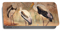 African Tantalus Pseudotantalus Ibis Portable Battery Charger