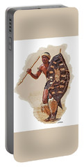 African Tribal Traditions 1 Portable Battery Charger