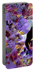 African Violet Awake #2 Portable Battery Charger