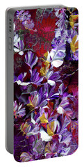 African Violet Awake #4 Portable Battery Charger