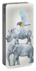 African Wildlife Portable Battery Charger