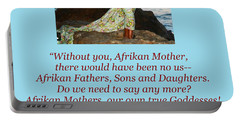 Afrikan Mother Portable Battery Charger