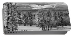 After The Snow  Portable Battery Charger by Betty Pauwels