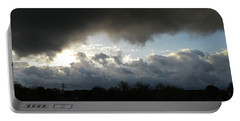Portable Battery Charger featuring the photograph After The Storm by Liza Eckardt