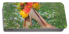 Portable Battery Charger featuring the photograph After The Wedding by Geraldine DeBoer