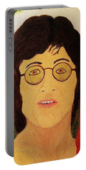 Afterlife Concerto John Lennon Portable Battery Charger by Rand Swift