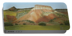 Afternoon At Ghost Ranch Portable Battery Charger
