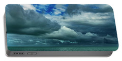 Portable Battery Charger featuring the photograph Afternoon Clouds In Key West, Florida by Bob Slitzan