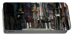 Portable Battery Charger featuring the photograph Afternoon In Venice by Alex Lapidus