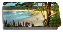 Afternoon On Carmel Beach Portable Battery Charger