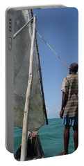 Afternoon Sailing In Africa Portable Battery Charger