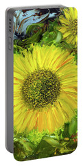 Afternoon Sunflowers Portable Battery Charger