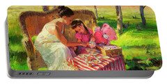 Afternoon Tea Party Portable Battery Charger