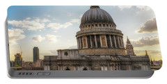 Afternoon View Of St. Paul's Cathedral Portable Battery Charger