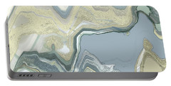 Portable Battery Charger featuring the digital art Agate by Gina Harrison