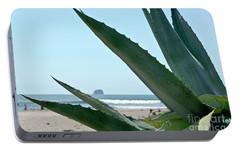 Portable Battery Charger featuring the photograph Agave Ocean Sky by Yurix Sardinelly
