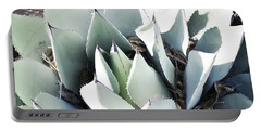 Portable Battery Charger featuring the photograph Agave Plant Leaves by Andrea Hazel Ihlefeld