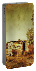 Aged Australia Countryside Scene Portable Battery Charger