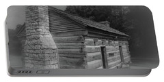 Aged Cabin At The Hermitage Portable Battery Charger