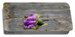 Aged In Purple And Blue Portable Battery Charger