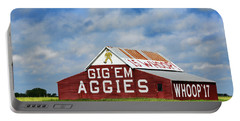 Aggie Nation Barn Portable Battery Charger