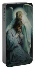 Agony In The Garden, 1898 Portable Battery Charger