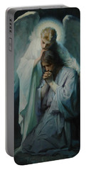 Agony In The Garden By Frans Schwartz, 1898 3 Portable Battery Charger