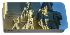 Portable Battery Charger featuring the photograph Agriculture Allegorie Monument To The Constitution Of 1812 Cadiz Spain by Pablo Avanzini