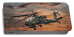 Ah-64 Apache Attack Helicopter Portable Battery Charger